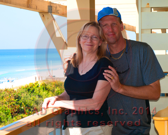 Jim & Mary-Seaside 2012