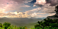 View from Whiteside Mountain, NC 07-2014